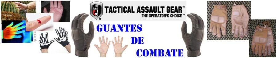 Guantes de combate Tactical Assault Gear