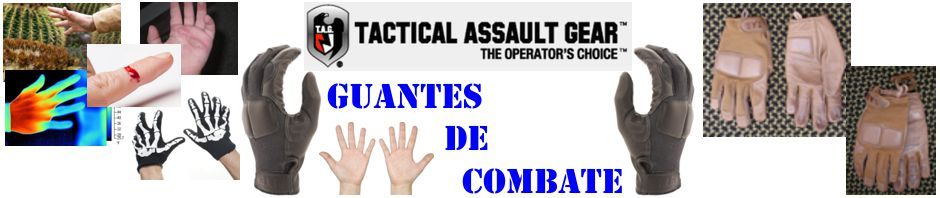 Guantes de combate Tactical Assault Gear
