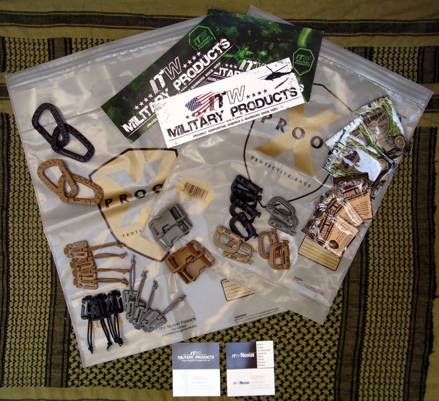 Lote de productos ITW Military