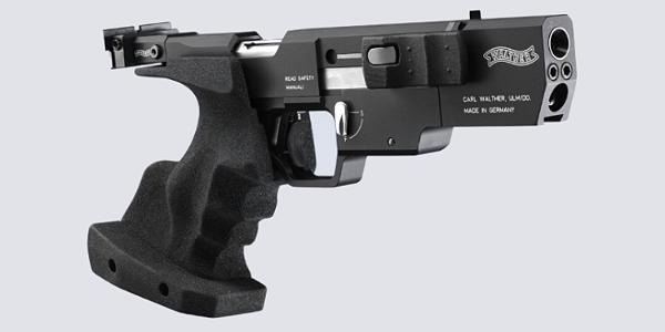 Pistola semiautomática de competición Walterh SSP.