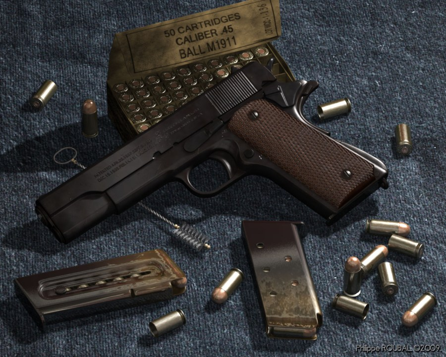 Colt Government M1911A1 .45 ACP