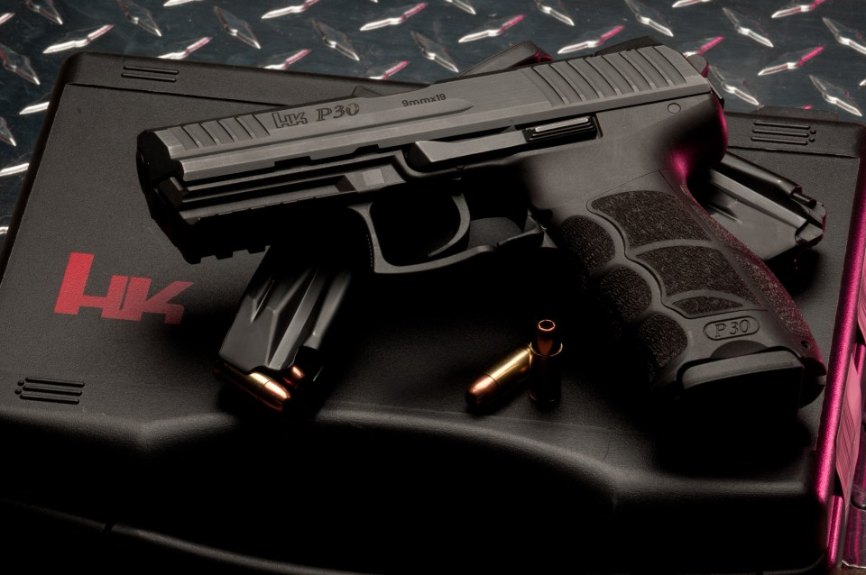 HK P30 9 Luger