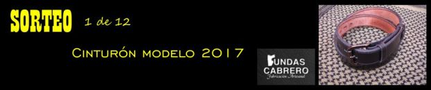 SORTEO. Fundas Cabrero. Cinturón modelo 2017, para uso diario (1 de 12).