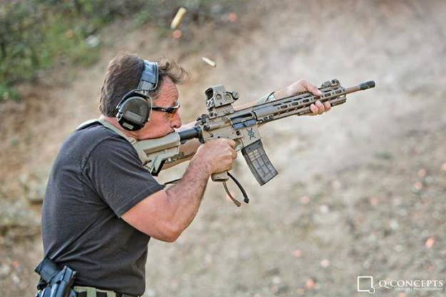 Mike Pannone - C-Clamp rifle grip