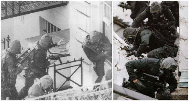 05MAY1980. Asalto a la embajada de Irán en Londres por el SAS