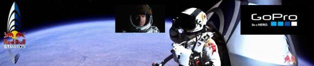 Imágenes inéditas de la misión Red Bull Stratos. Felix Baumgartner saltó al vacío desde 38 km. de altura y GoPro grabó cada instante.