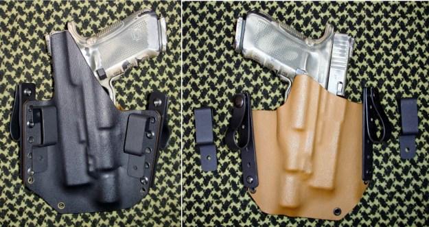 PT Holsters, fundas pistoleras de fabricación artesanal en Kydex 100 % española, y el porte oculto de un arma [Concealed Carry Weapon (CCW)]