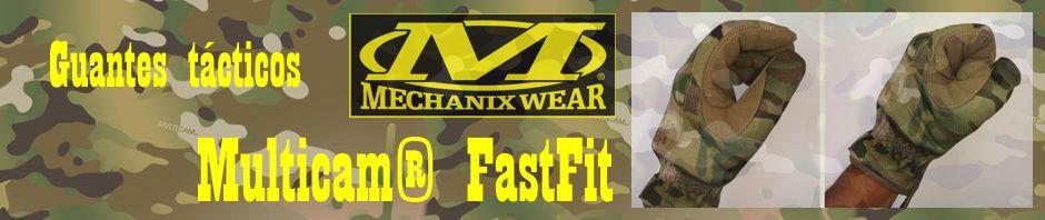 Guantes tácticos Mechanix Wear Multicam® FastFit