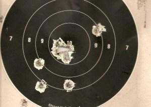 Impactos y blancos de tiro