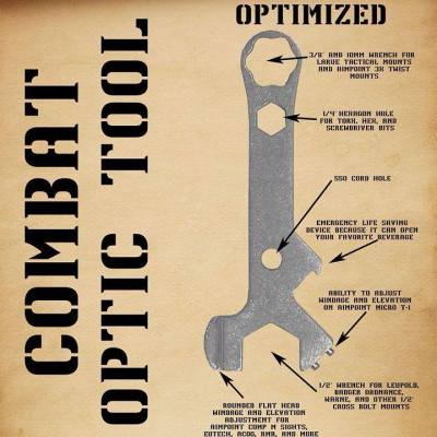 Combat Optic Tool Optimized, by Freddie Blish