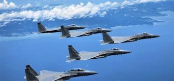 Detener a China supondría dos tercios del Ejército del Aire estadounidense. EE.UU. necesitaría casi todos sus cazas en una guerra contra Taiwan.