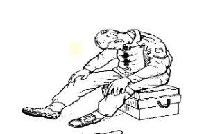 En esta posición puede respirar y evacuar la sangre o secreciones