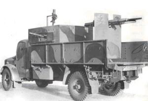 Armadillo Mk. III. Foto vía Militaryimages.net