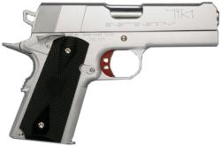 Pistola Strayer Voigt Infinity TIKI 1911 que utiliza el personaje Crocket en la película Miami Vice