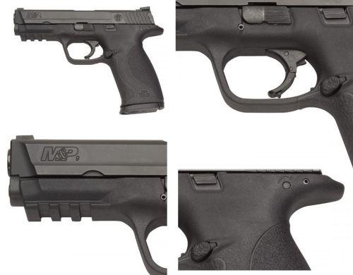 Detalles de la línea de pistolas MP de Smith and Wesson