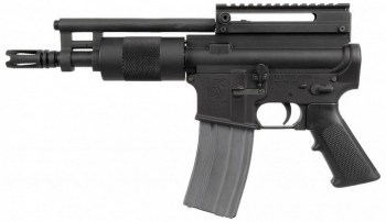 En un principio la pistola AR-15 parecía un chiste malo  Esta pequeña pistola tan fea tiene su encanto
