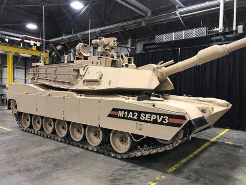 Carro de combate M1A2SEPV3