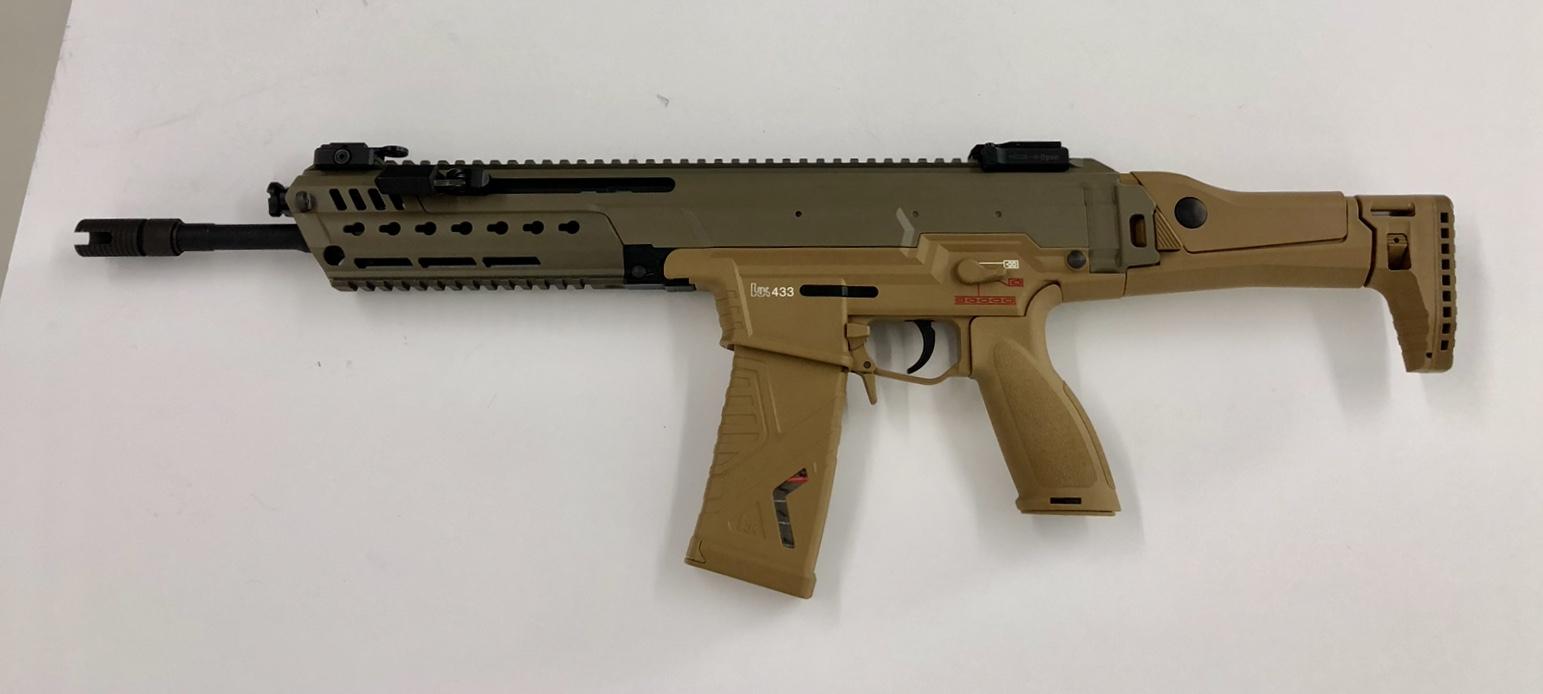 El Próximo Fusil De Asalto De Nuestras Fuerzas Armadas Versión 4 No