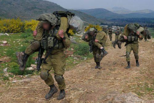 comandos del ejército israelí durante su entrenamiento. Fotografía de las Fuerzas de Defensa de Israel (IDF)