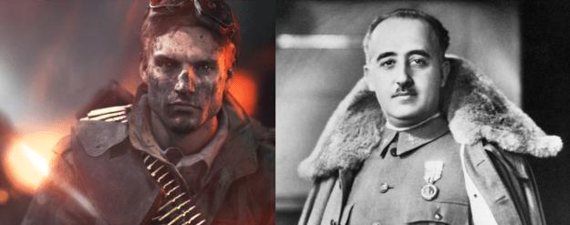 Battlefield V y Franco