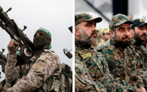 Patrones de camuflaje de Hamas