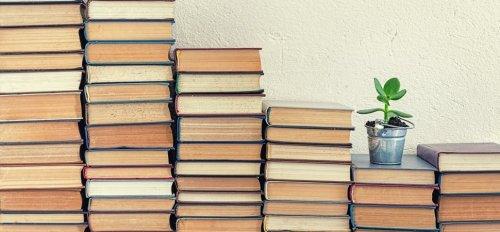 Imagen: Montaña de libros