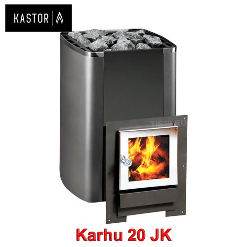 Печь для бани на дровах Kastor Karhu 20 JK