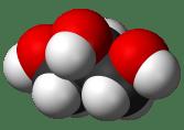 Formule 3D du glycérol