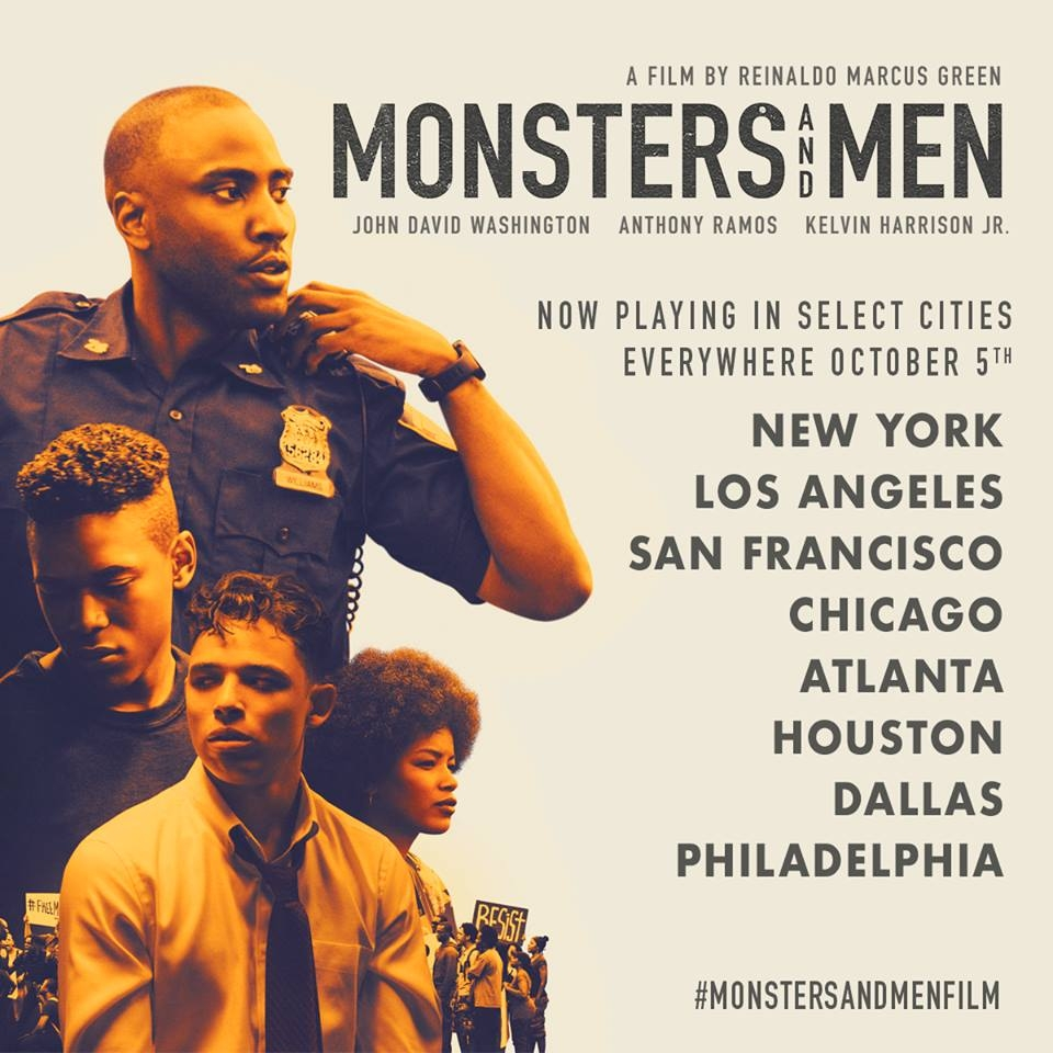 Monsters and Men In Theaters This Friday