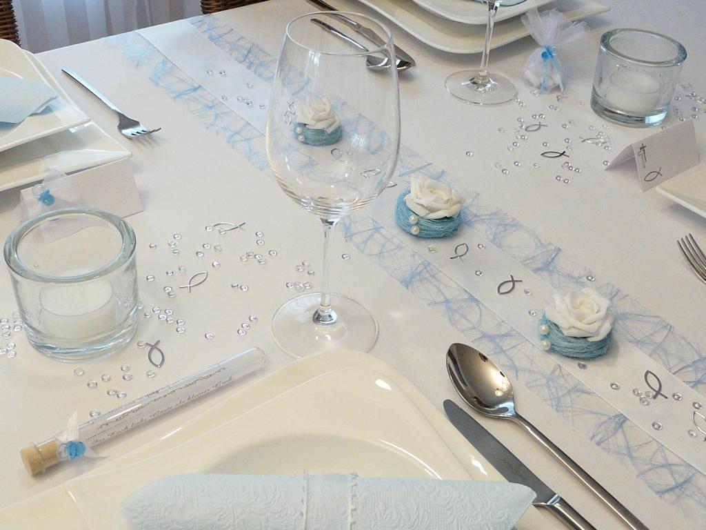 Taufe Tischdekoration Ideen Taufe Deko Ideen Avec Servietten