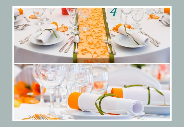 Tischdeko Hochzeit  Tischdekotips