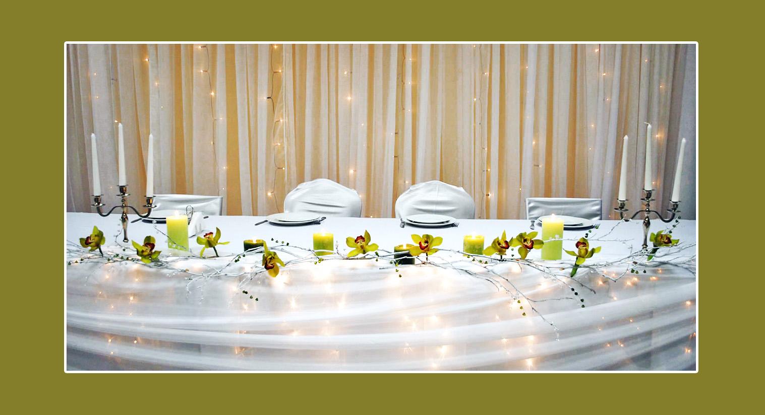 Deko mit Kommunionskerzen  Tischdekotips