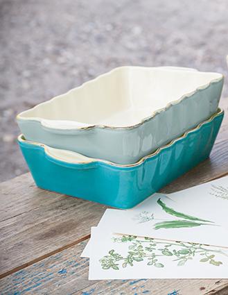 auflaufformen grün form keramikserie umbrien