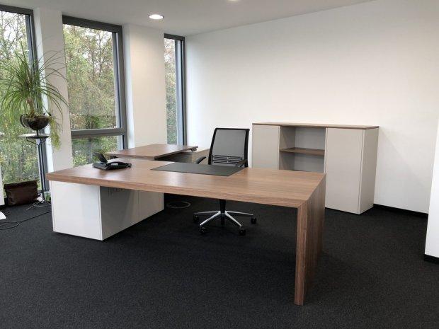 Regal Mit Schreibtisch Integriert