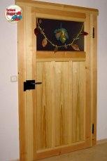 Zimmertür aus Kiefer