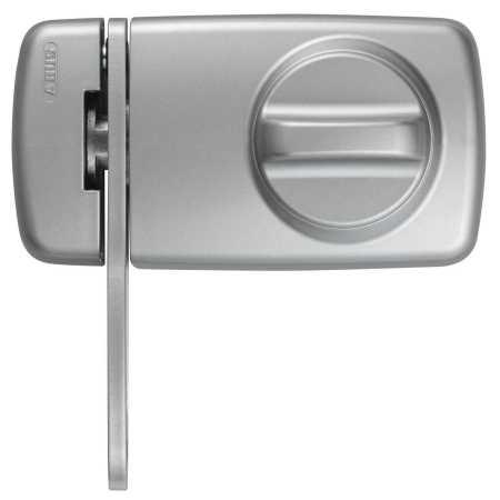 Tür Zusatzschloss 7030 silber