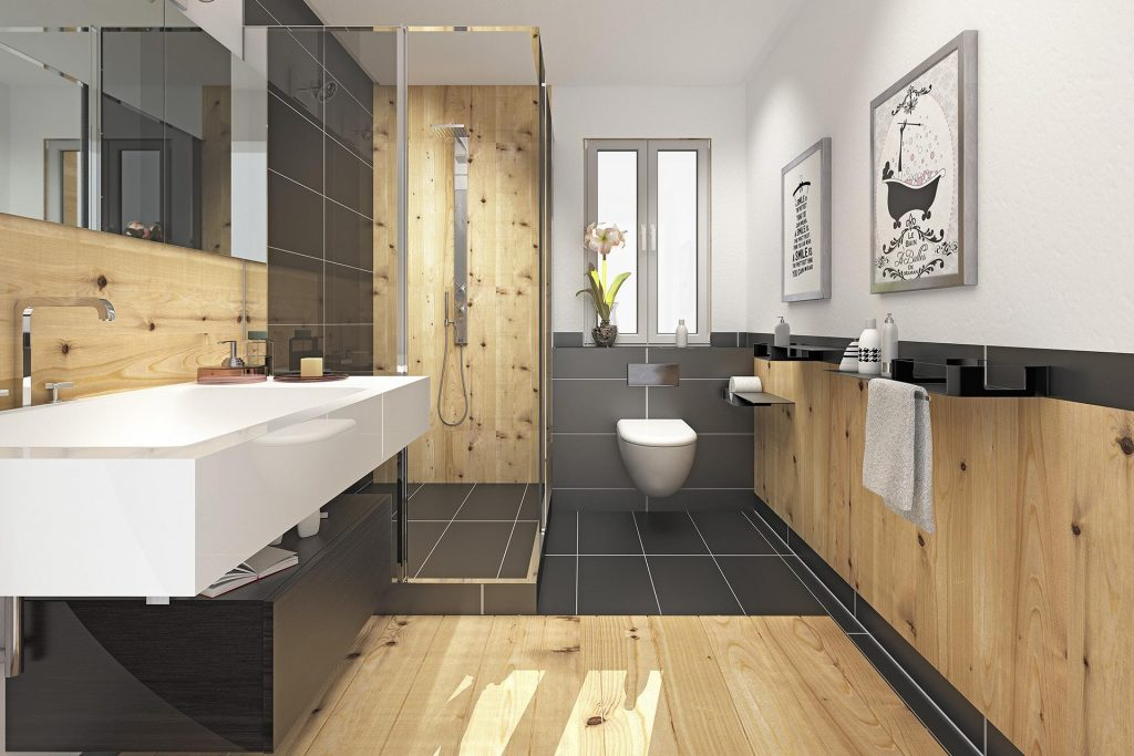 Badezimmer  Wellness zuhause erleben  Tischlerei Krug