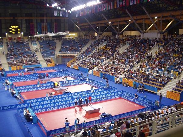 State Sports Centre Tischtennis Olympia Austragungsort 2004 in Athen