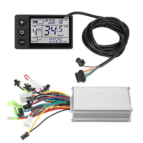24V-36V 250W Brushless Controller with LCD Display Waterproof For Electic Scooter E-Bike 1