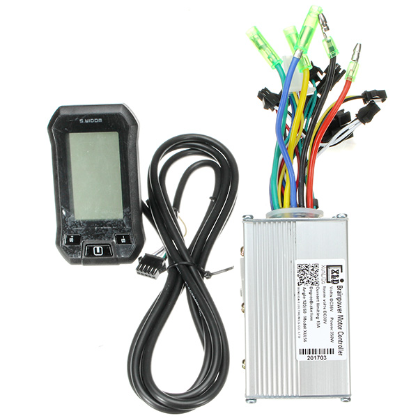 24/36/48V 350W Motor Brushless Speed Controller LCD Meter Electric BicyclE Mountain Bike Scooter 1