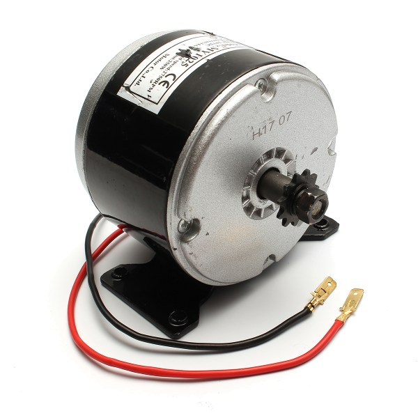 24V 200W 2750 RPM Electric Brushed Bike Scooter Motor Clockwise 2 Wire ZY1016 1