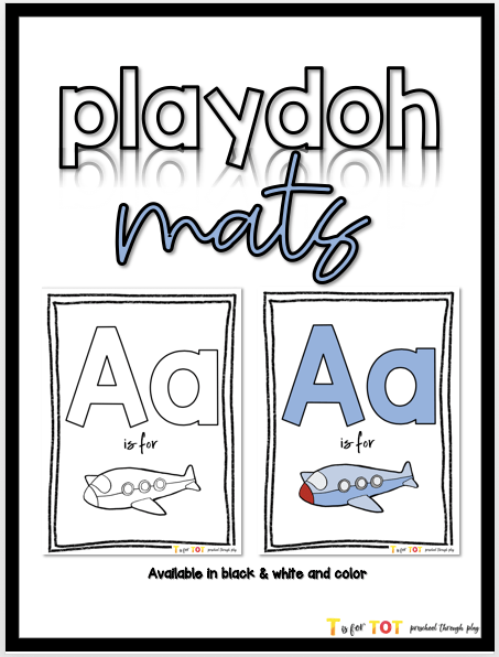 Playdoh Mat Freebie