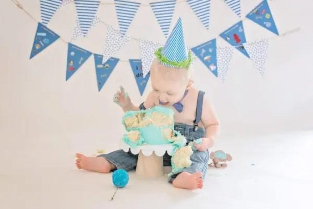 Ethan's Cake Smash Birthday Camp Hill pa photographers baby photographers 17011 baby photography camp hill pa-6