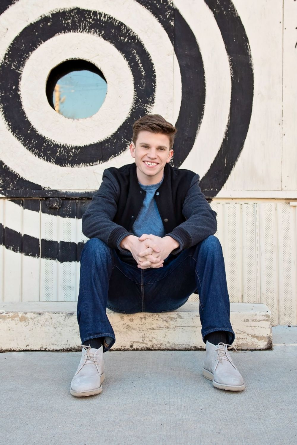 High School Senior Portrait Photography for guys in Camp Hill PA