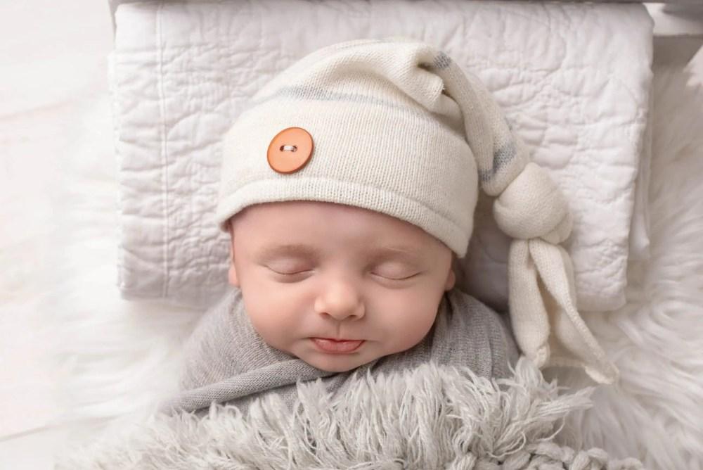 Newborn Photography Of Boy
