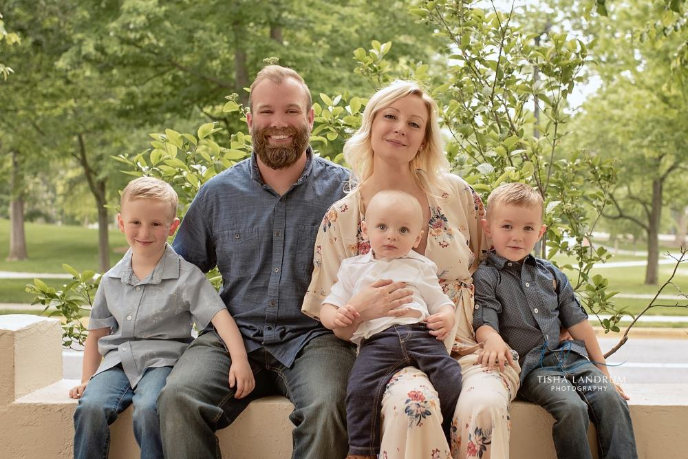 Family Pictures at Dickinson College in Carlisle PA
