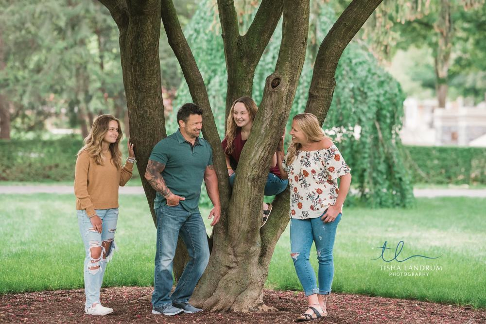 Family Photography In The Summer At Dickinson college in Carlisle Pa