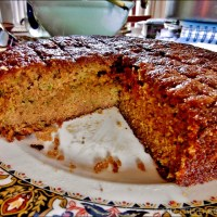 Having My Cake And Eating It ~ That Would Be Gluten Free Lemon Zucchini Cake