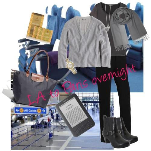 LA to Paris - Overnight Flight