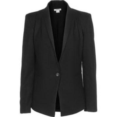 politics le blazer bleu marine tish jett. Black Bedroom Furniture Sets. Home Design Ideas